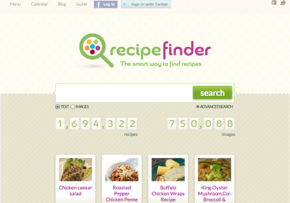 Recipe Search Engine
